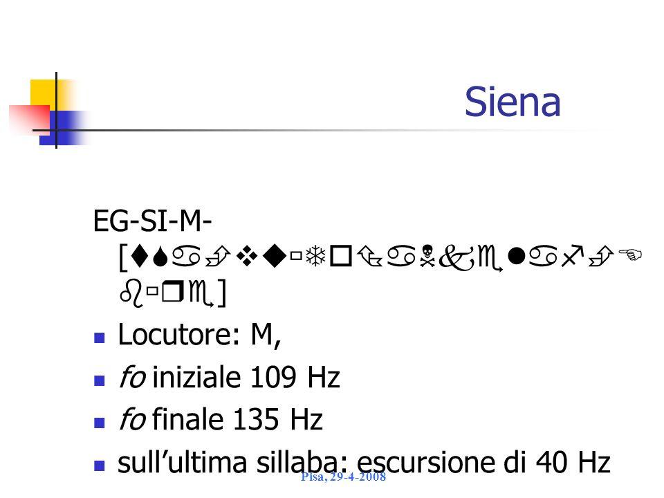 Siena EG-SI-M- [] Locutore: M,